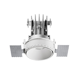 Lunik Recessed Spotlight for Rimless Installation