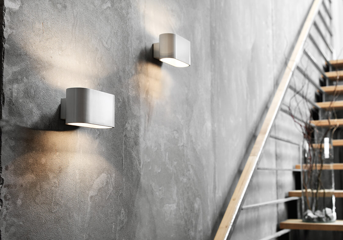 Fiora on wall - project - Fiora Wall Light